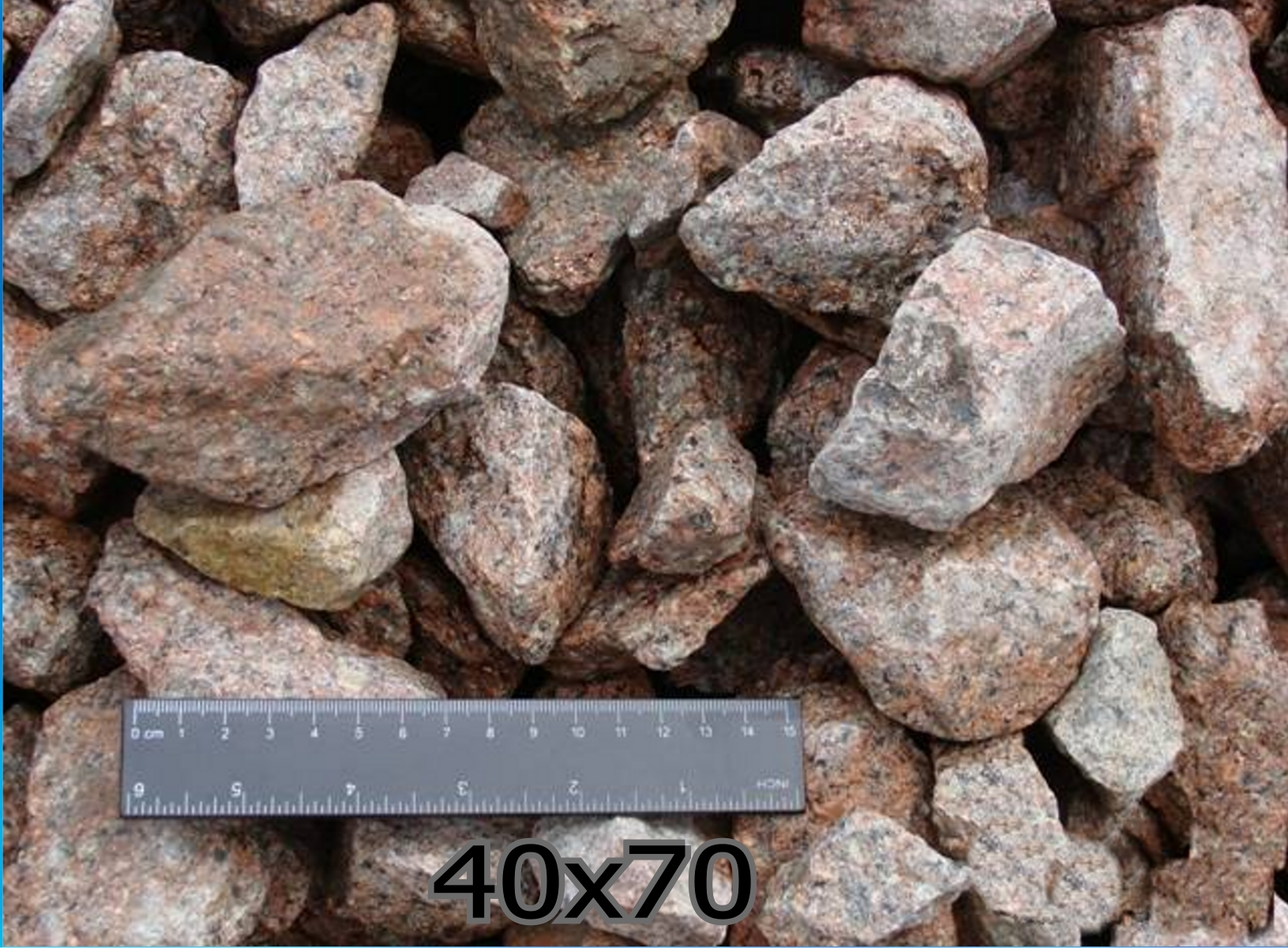 Щебінь гранітний фр.40-70